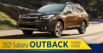 Compare the new 2021 Subaru Outback vs other makes and models