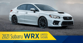 Compare the new 2021 Subaru WRX vs other makes and models