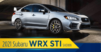 Compare the new 2021 Subaru WRX STI vs other makes and models