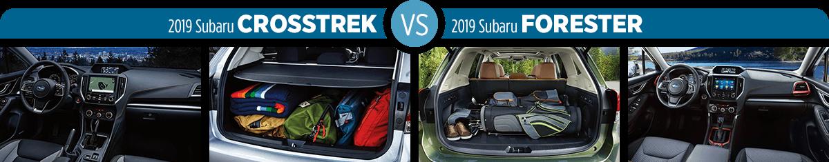 2019 Subaru Crosstrek Vs 2019 Subaru Forester San