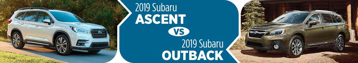 2019 Subaru Ascent vs 2019 Subaru Outback Comparison in Columbus, OH