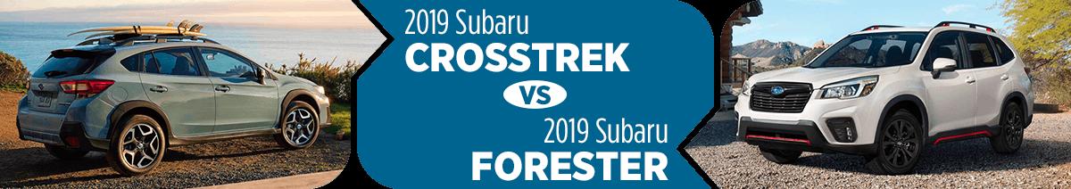 2019 Subaru Crosstrek or Forester? Salt Lake City Model Comparisons