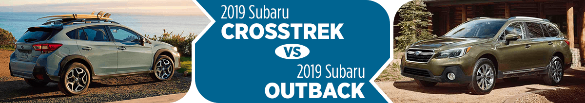 2019 Subaru Crosstrek vs 2019 Subaru Outback Comparison in Salt Lake City, UT