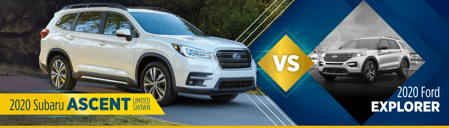 2020 Subaru Ascent VS 2020 Ford Explorer Comparison in Salt Lake City, UT