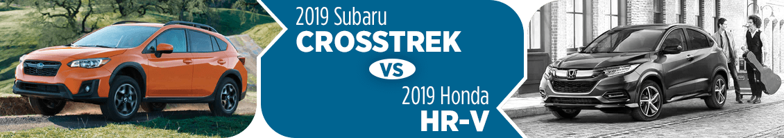 2019 Subaru Crosstrek vs Honda HR-V Comparison in Columbus, OH