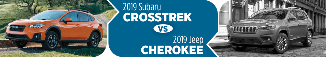 2019 Subaru Crosstrek vs 2019 Jeep Cherokee SUV Comparison in Columbus, OH