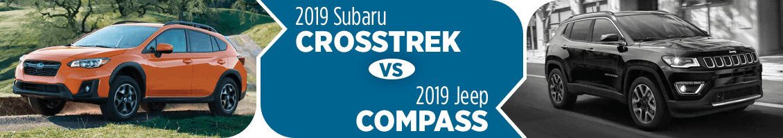 2019 Subaru Crosstrek vs 2019 Jeep Compass SUV Comparison in Columbus, OH
