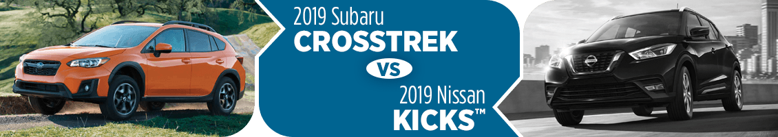 2019 Subaru Crosstrek VS 2019 Nissan Kicks Comparison in Salt Lake City, UT
