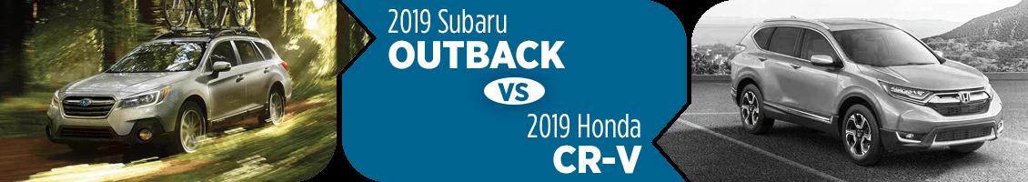 Outback Vs Crv >> 2019 Subaru Outback Vs 2019 Honda Cr V Comparison In Salt