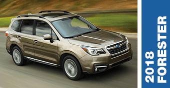Click to view our Subaru Forester comparisons to the right