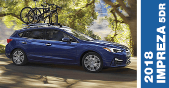 Compare New 2018 Subaru Impreza 5dr vs Competitve Makes and Models