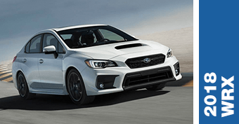 Compare New 2018 Subaru WRX vs Competitve Makes and Models