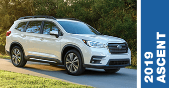 Compare New 2019 Subaru Ascent vs Competitve Makes and Models