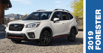Compare New 2019 Subaru Forester Versus Competing Models