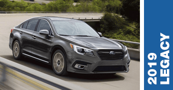 Compare New 2019 Subaru Legacy vs Competitve Makes and Models