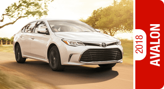 2018 Avalon Competitive Comparisons at Capitol Toyota in Salem, OR