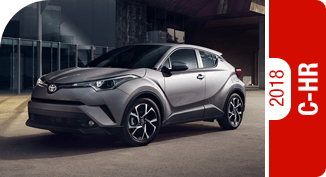 2018 C-HR Competitive Comparisons at Capitol Toyota in Salem, OR