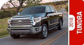 Click on each link to compare the 2018 Toyota Tundra to the competition