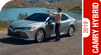 2019 Toyota Camry Hybrid Competitive Comparisons at Capitol Toyota in Salem, OR