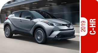 2019 Toyota C-HR Competitive Comparisons at Capitol Toyota in Salem, OR