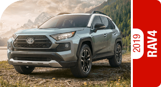2019 Toyota RAV4 Competitive Comparisons at Capitol Toyota in Salem, OR