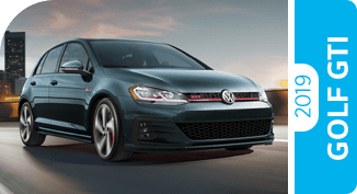 Click to view our 2019 Volkswagen Golf GTI comparison pages to learn more