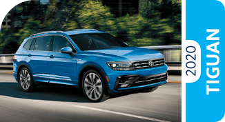 2020 Volkswagen Tiguan Comparisons