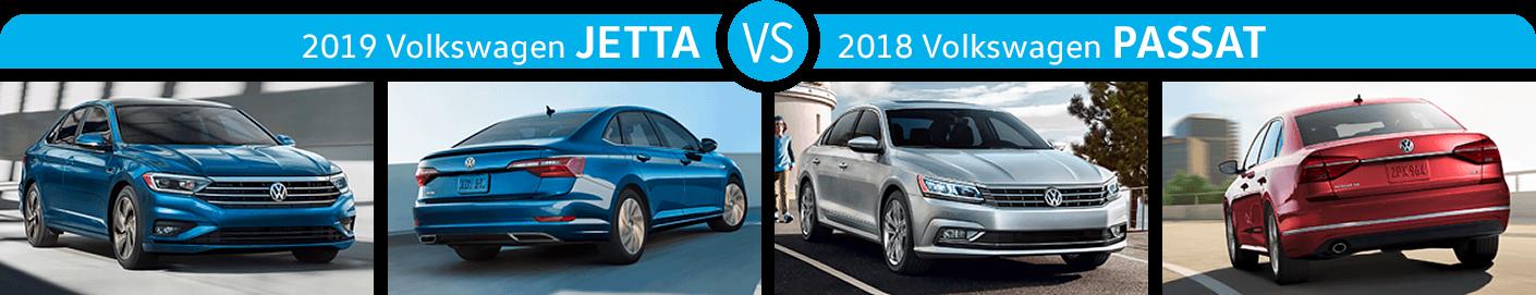 2019 Jetta vs 2018 Passat Exterior Comparison