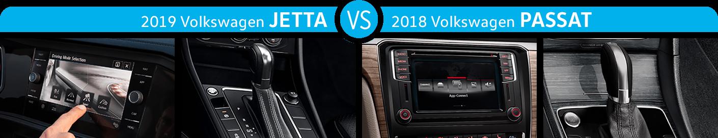 2019 Jetta vs 2018 Passat Features