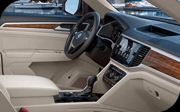 Compare new 2018 Volkswagen Atlas vs GMC Acadia Driver Assistance Benefits