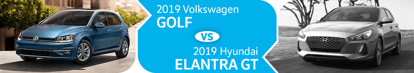 Compare 2019 Volkswagen Golf vs Hyundai Elantra GT Models in Seattle, WA