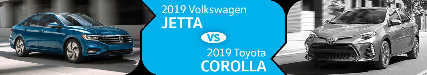 Compare 2019 Volkswagen Jetta vs Toyota Corolla Models in Seattle, WA