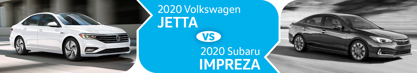 2020 VW Jetta vs 2020 Subaru Impreza Comparison in Huntington Beach, CA