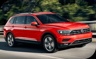 Compare new 2018 Volkswagen Tiguan vs Chevrolet Equinox Performance Information