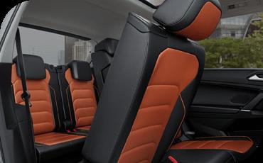 Compare new 2018 Volkswagen Tiguan vs Chevrolet Equinox Interior Design Styling