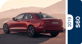 Click below to compare the new 2019 Volvo S60 versus other luxury makes and models!