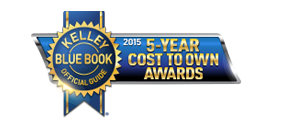 Kelley Blue Book Awards Subaru 5-Year Cost To Own Award
