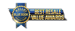 Kelley Blue Book Awards Subaru Best Resale Value Award