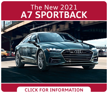 Click to research the exciting new 2021 Audi A7 Sportback model at Audi Columbus serving Columbus, OH