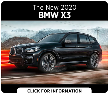 Browse our 2020 BMW X3 SAV model information at South Bay BMW in Torrance, CA