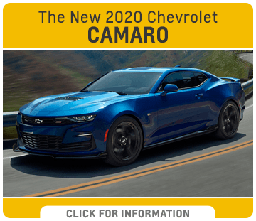 Click to research the new 2020 Chevrolet Camaro model at Capitol Chevrolet in Salem, OR