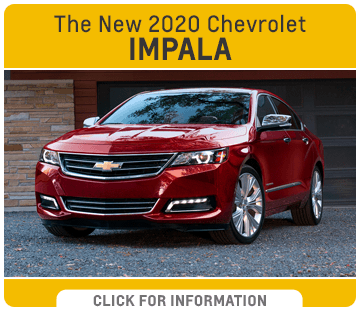 Click to research the new 2020 Chevrolet Impala model at Capitol Chevrolet in Salem, OR