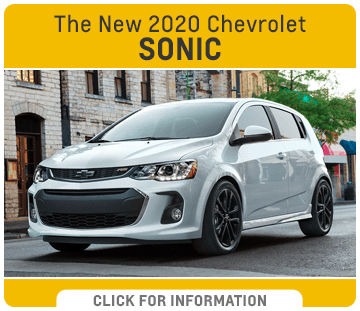 Click to research the new 2020 Chevrolet Sonic model at Capitol Chevrolet in Salem, OR