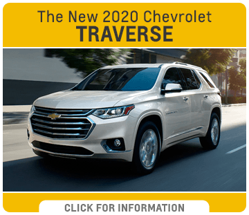 Click to research the new 2020 Chevrolet Traverse model at Capitol Chevrolet in Salem, OR