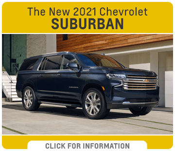 Click to research the new 2021 Chevrolet Suburban model at Capitol Chevrolet in Salem, OR