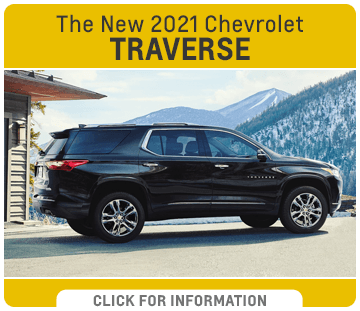 Click to research the new 2021 Chevrolet Traverse model at Capitol Chevrolet in Salem, OR