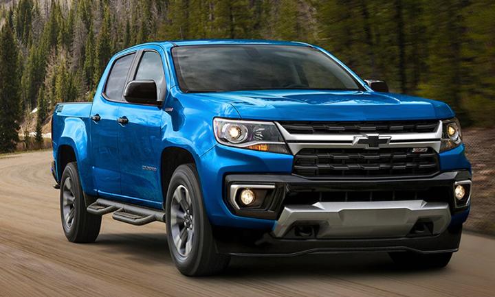 2021 chevrolet colorado | midsize pickup truck specs