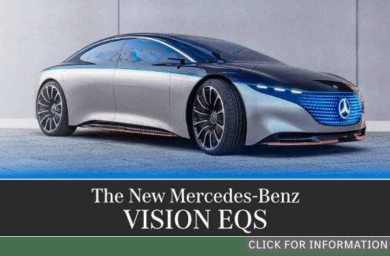 The Mercedes-Benz Vision EQS model information at Mercedes-Benz of Temecula