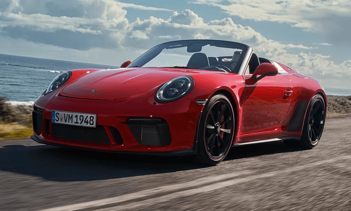 Review The New 2019 Porsche 911 Speedster Model Information