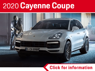 Click to View Our 2020 Cayenne Coupe Model Details in Norwalk, CA